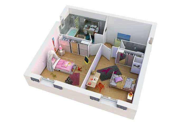 maison provencale alliel etage villas trident