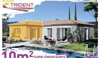 Agrandissez votre futur maison grâce à 10m² supplémentaires !