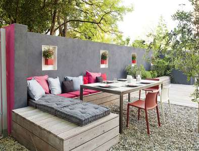 comment am nager votre terrasse moindre co t villas. Black Bedroom Furniture Sets. Home Design Ideas