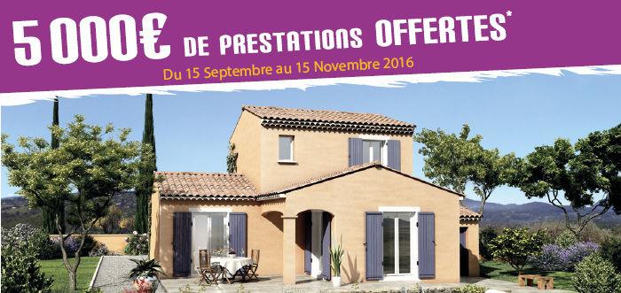 Constructeur maison traditionnelle provence villas trident - Constructeur maison salon de provence ...