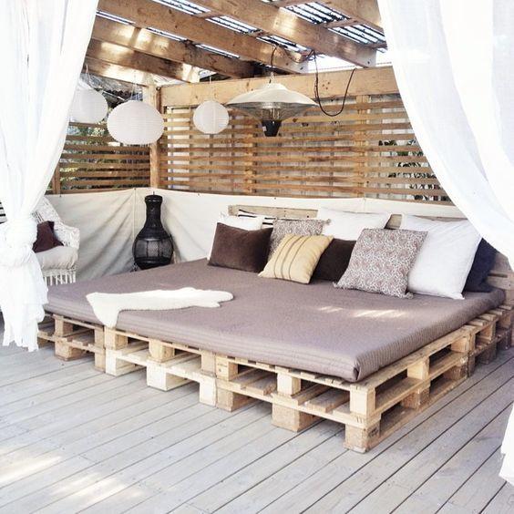 pergola lounge