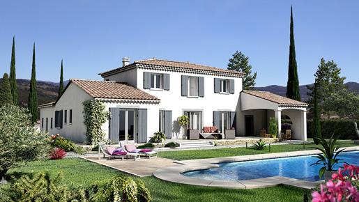 maison provençale à étage Castellet par Villas Trident