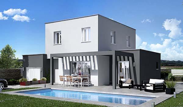 maison provençale Villas Trident modèle Athena