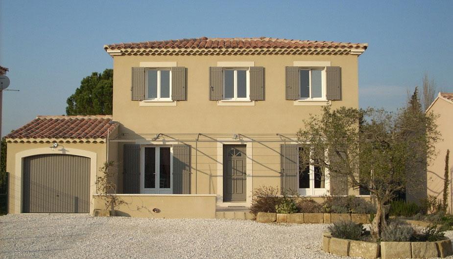 Construction de maison individuelle en Provence