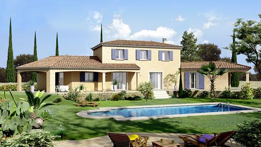 maison provençale Cairanne - Villas Trident