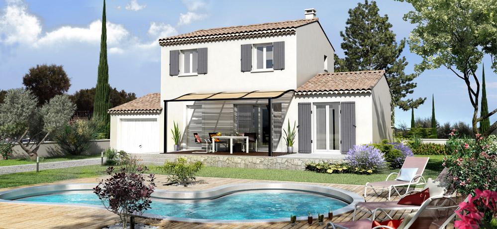 Plan de maison traditionnelle provençale