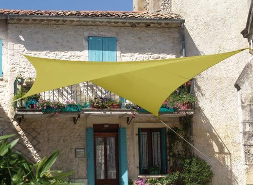 voile d'ombrage tendance