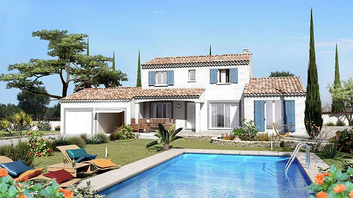 Constructeur maison traditionnelle graveson villas trident - Plan de maison provencale ...