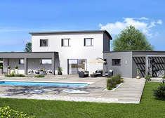 maison provencale cairanne contemporaine villas trident