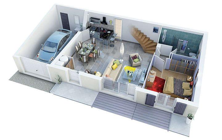 maison provencale alliel rdc villas trident