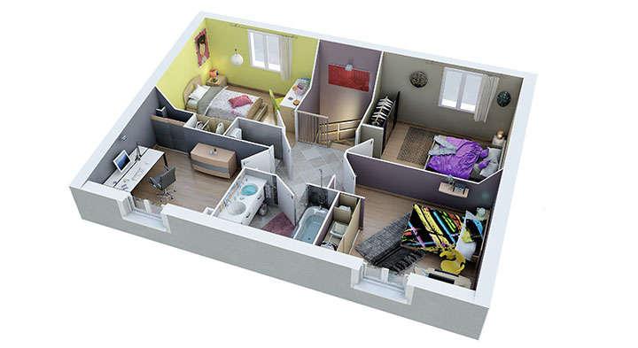 maison provencale esterel etage villas trident