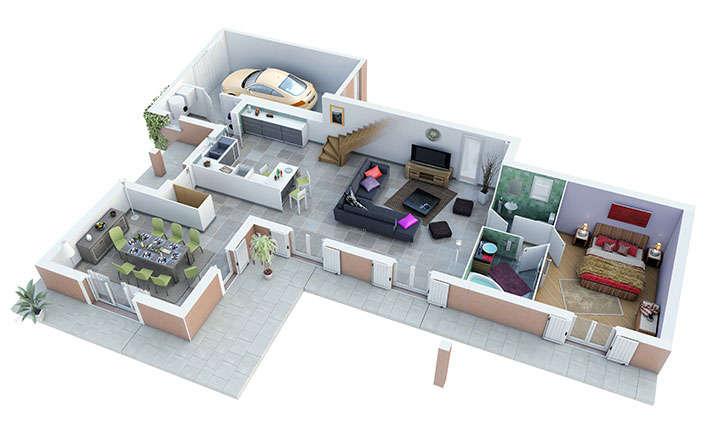 maison provencale joncquiere rdc villas trident