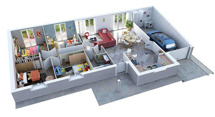 maison provencale lavandin villas trident 1