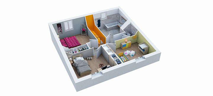maison provencale maillane etage villas trident