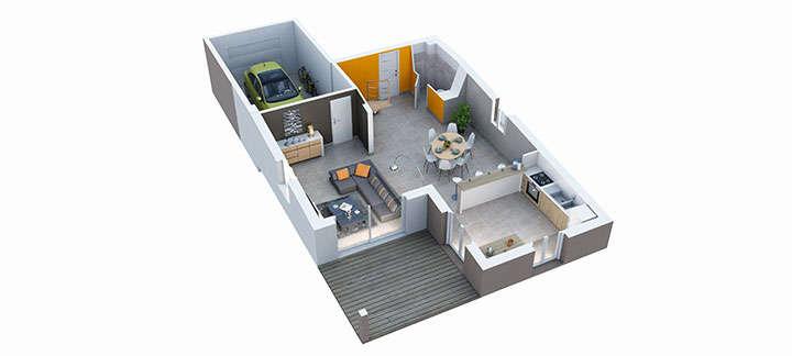 maison provencale maillane rdc villas trident