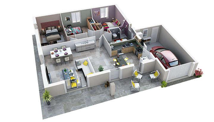 maison provencale rougadou villas trident