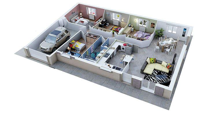 maison provencale rubis villas trident