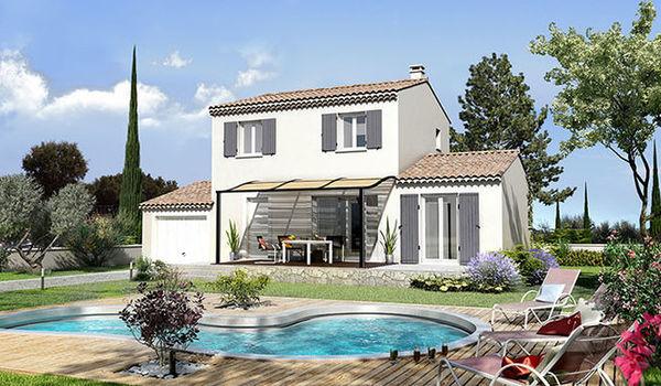 G noise sur la toiture et tuiles panach es une particularit proven ale villas trident - Difference entre villa et maison ...