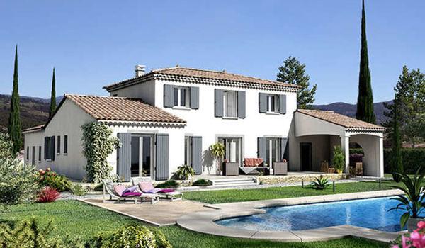 Villas trident des maisons l architecture proven ale villas trident - Difference entre villa et maison ...